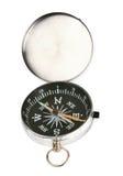 Open chroomcompas Royalty-vrije Stock Foto