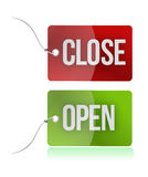 Open and close tags Royalty Free Stock Photos