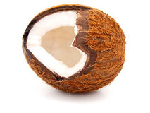 Open coconut Royalty Free Stock Photos