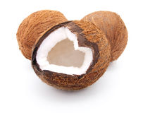 Open coconut Royalty Free Stock Image