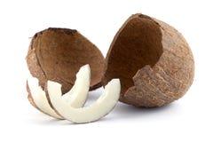 Open coconut Stock Image