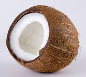 Open coconut Stock Photo