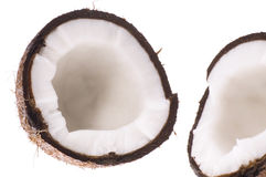Open coconut Royalty Free Stock Images