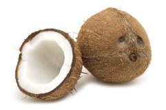 Open coconut Royalty Free Stock Photo