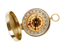 Open compass Royalty Free Stock Image