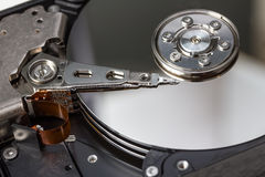 Open computer hard disk Stock Photography