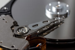 Open computer hard disk Royalty Free Stock Photography