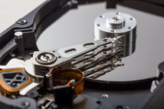 Open computer hard disk Royalty Free Stock Image