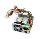 Open computer power supply Stock Photos