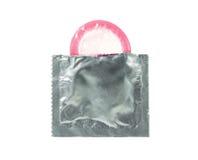 Open condom Royalty Free Stock Image