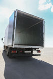 Open container of the truck Royalty Free Stock Photos