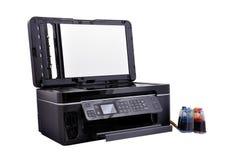 Open Copier scanner Stock Image