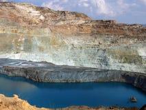 Open copper mine Stock Photo