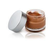 Open Cosmetic Cream Bottle Stock Photos