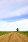 Open Country Road. An open country road on the praries Stock Photography