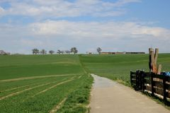 Open country side of Germany Royalty Free Stock Photo