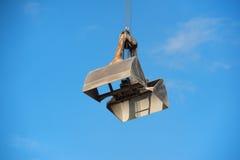 Open crane Royalty Free Stock Photo
