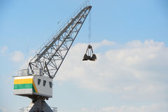 Open crane Royalty Free Stock Photography