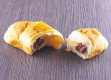 Open croissant Stock Photo