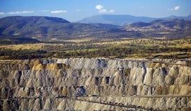 Open Cut Coal Mining Royalty Free Stock Image