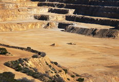 Open cut mine Royalty Free Stock Images
