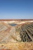 Open Cut Mining Pit Australia stock image