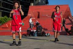 2016 open d'Australie - interprètes de rue de Melbourne Image stock