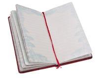 Open Dagboek Royalty-vrije Stock Foto