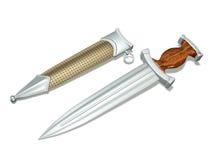 Open dagger Stock Image