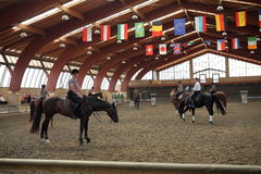 Open Day - Ecole de Légèreté (EDL) di Philippe Karl. Sunday, September 14, 2014, at the Equestrian Center The Elephant Pioltello (MI - C.na Saresina) was held Royalty Free Stock Image