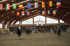 Open Day - Ecole de Légèreté (EDL) di Philippe Karl. Sunday, September 14, 2014, at the Equestrian Center The Elephant Pioltello (MI - C.na Saresina) was held Stock Photo