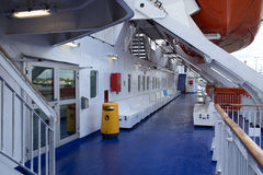 Open day on the ferry Stena Spirit. Royalty Free Stock Photography