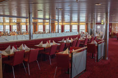 Open day on the ferry Stena Spirit. Royalty Free Stock Photos