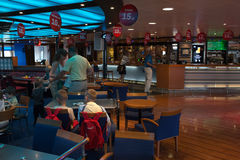 Open day on the ferry Stena Spirit. Stock Photos