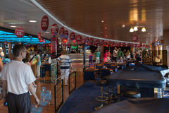 Open day on the ferry Stena Spirit. Royalty Free Stock Photos