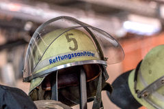 Open day of german firefighters in Bayreuth (Bavaria) Stock Photography