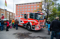 Open day at Pirkanmaa Rescue Services Royalty Free Stock Photo