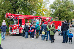Open day at Pirkanmaa Rescue Services Stock Photography