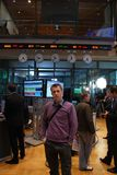 Open day on the Warsaw Stock Exchange Royalty Free Stock Images