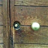 Open de deur en ontdek de wereld! royalty-vrije stock foto