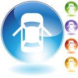 Open de Deur van de auto royalty-vrije illustratie