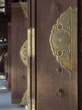 Open de deuren van de tempel Stock Foto's