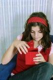 Open de gift Stock Foto