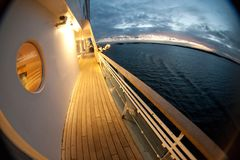 Open deck Stock Image