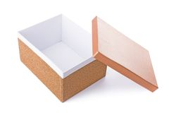 Open decorative box Royalty Free Stock Image