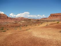 Open desert, Glen Canyon, Utah royalty free stock photography