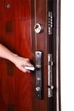 Open deur Stock Afbeeldingen