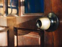 Open deur Stock Afbeelding