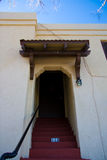 Open deuropening binnenshuis Royalty-vrije Stock Afbeelding