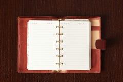 Open diary Royalty Free Stock Photos